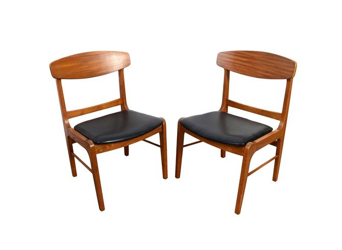 Mid Century Modern Dining Chairs Stanley Furniture by HearthsideHome