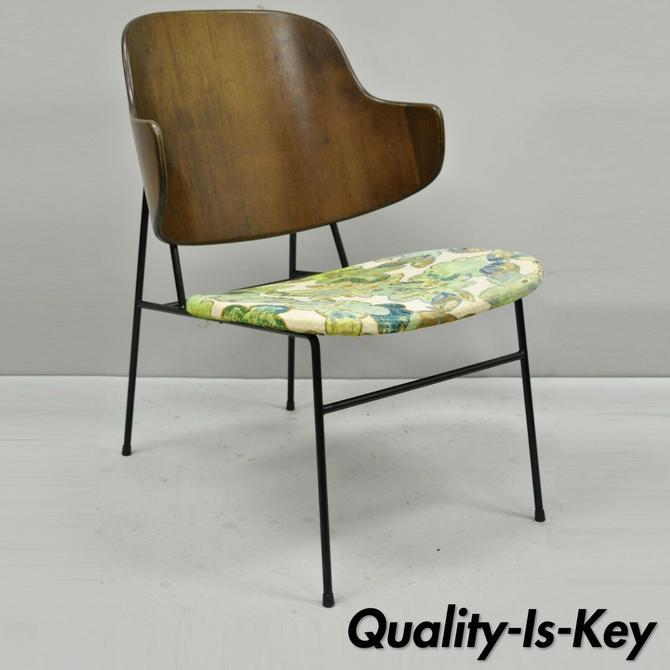 Vintage Mid Century Danish Modern Ib Kofod Larsen Selig Penguin Chair