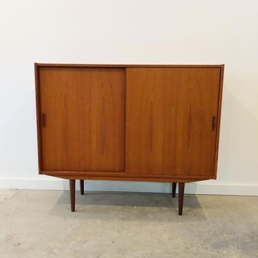 Vintage Danish Modern Teak Sideboard / Wardrobe by FarOutFindsNY