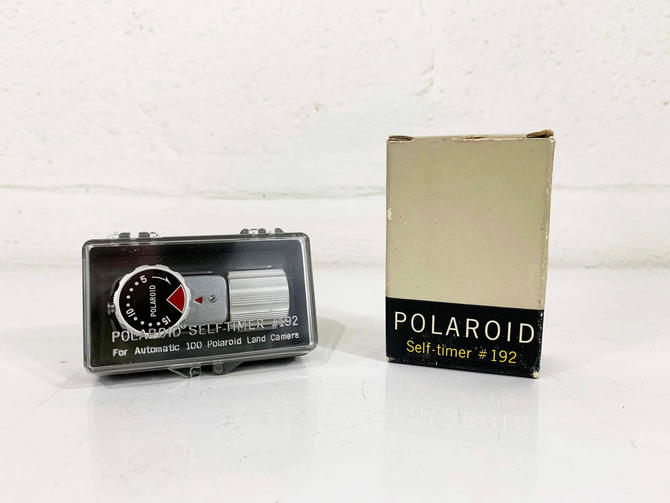 True Vintage Polaroid Self Timer #192 Accessory Kit Accessories Land Camera Film Photography Photographer Film by CheckEngineVintage