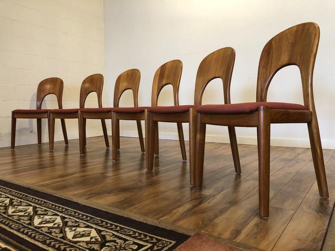 "Koefoeds Hornslet ""Morten"" Dining Chairs Set"