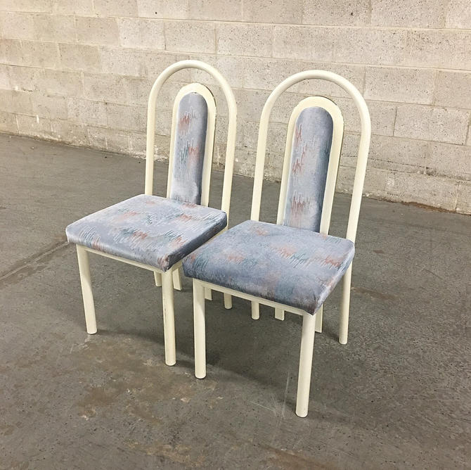 LOCAL PICKUP ONLY —————- Vintage Dining Chairs by RetrospectVintage215