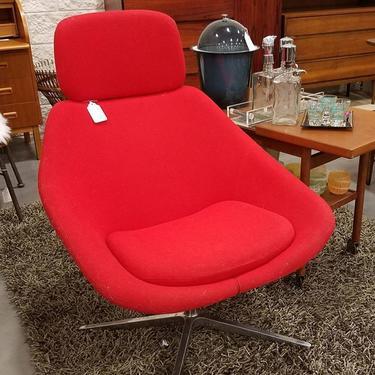 Allermuir Lounge chair in wool. Vintage 1977