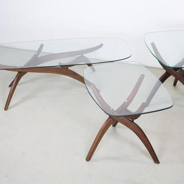 Cocktail Table and Side Tables by Forest Wilson