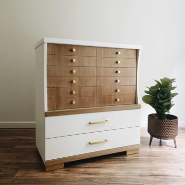 Mid-Century Modern Highboy Dresser by madenewdesignct