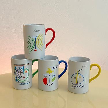 Picasso Crayon Collection Mug Set