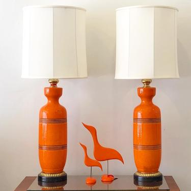 Monumental Frederick Cooper Lamps