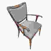 Single Paolo Buffa Armchair, Italy, 1940's