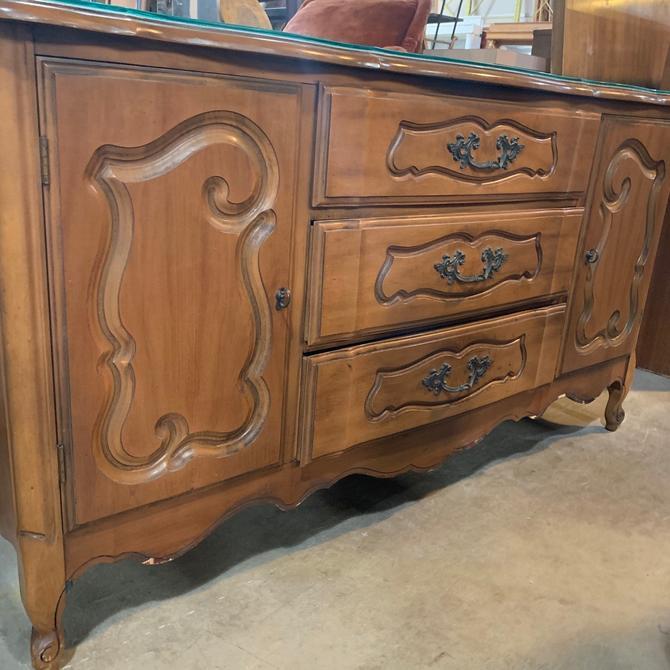 Vintage Cherry Wood Dresser