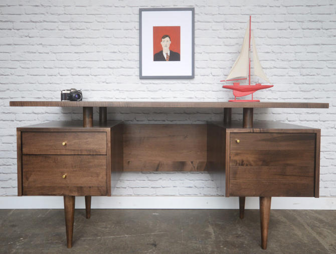 Clinton Desk - Mid Century Modern Inspired - Custom for Laurie by STORnewyork