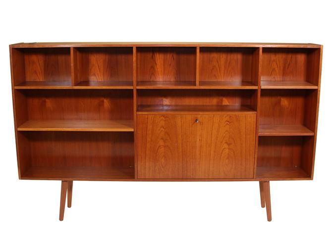 Mid Century Danish Teak Bookcase by RetroPassion21