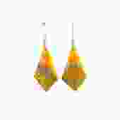 Bumblebee Jasper Kite Earrings