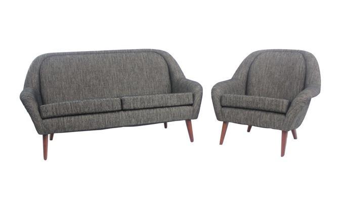 Classic Scandinaviam Modern Sofa & Chair Set
