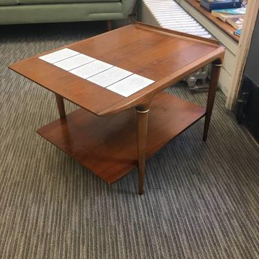 1960 Lane Side Table with Tile Accent on Top!