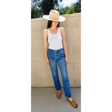 Levi's 501xx Jeans // 501 vintage Levis medium wash Levi hippy 501's 501s 30 // 26 by FenixVintage