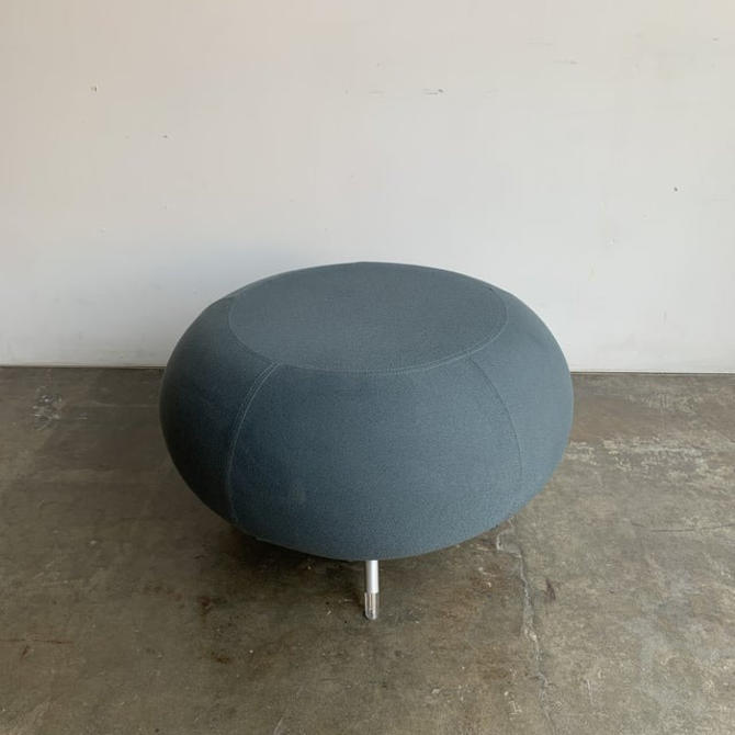 Modern Ottoman by Allermuir by VintageOnPoint
