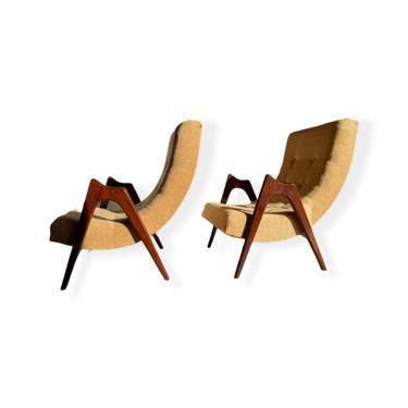 Mid-Century Modern Adrian Pearsall Lounge Chair