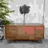 "Walnut 9-Drawer Dresser by Kent Coffey ""The Escort"""