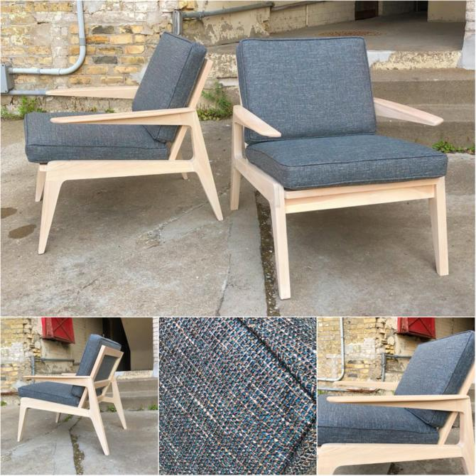 Made In Minnesota Mid-century Style Chairs