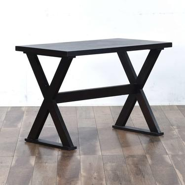Contemporary Cross Frame Console Table
