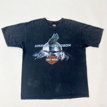 Harley Davidson Eagle Moon Tee