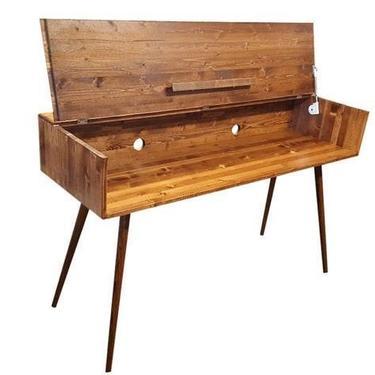 IN STOCK Mid Century Modern Keyboard Stand Desk by OrWaDesigns