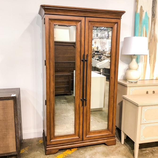 Universal Mirrored Front Armoire