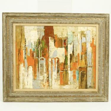 Keenan Shute Abstract Cityscape