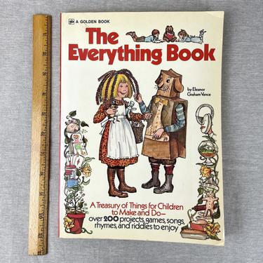 The Everything Book - Eleanor Graham Vance - 1974 softcover by NextStageVintage