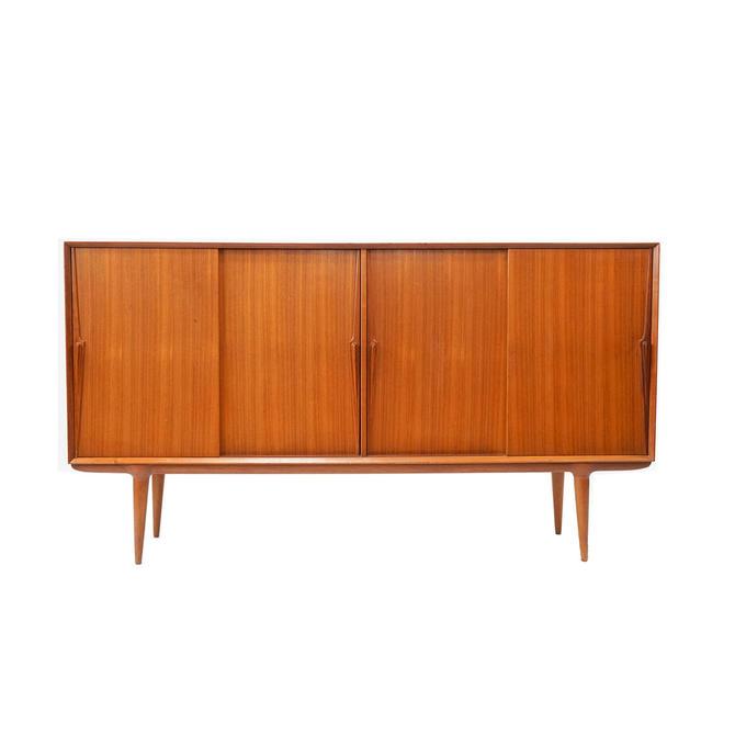 Danish Modern Teak Sideboard / Room Divider