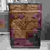 DIY Antique Dresser with Bakelite Pulls