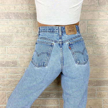 Levi's 550 Student Fit Jeans / Size 25 26 by NoteworthyGarments