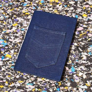 Upcycled Blue Jean Sustainable Journal