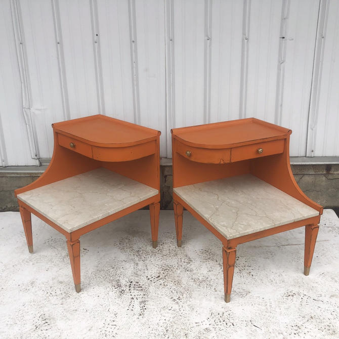 Mid-Century Modern Nightstands by Grosfeld House by secondhandstory