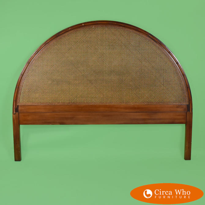 Faux Bamboo With Cane King Headboard