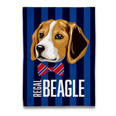 Regal Beagle Tea Towel
