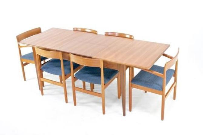 Mid Century Dining Set by JL Mollers Mobelfabrik of Denmark. by SputnikFurnitureLLC