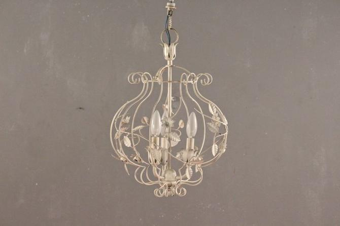 Shabby Bouquet Chandelier