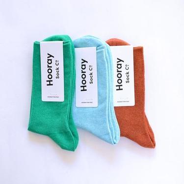 Colorful Everyday Cotton Crew Socks