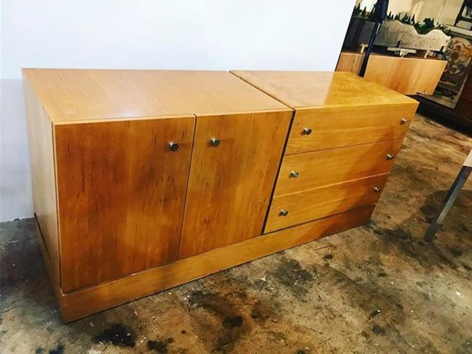 MCM blonde dresser. $500