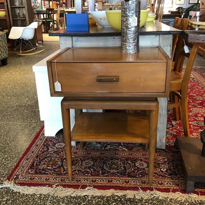 Midcentury modern nightstand! $135