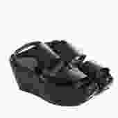 Marni Black Wedge Shoes