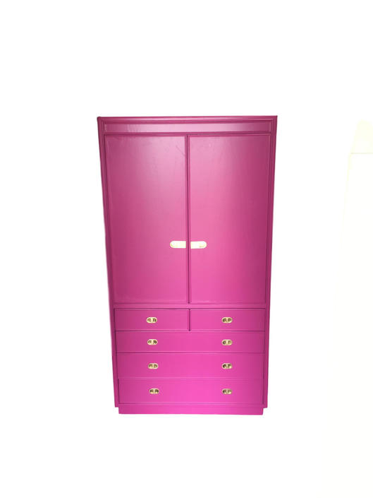 Armoire S Bedroom Chest Of Drawers Dresser Hot Pink By Dianemarieshome