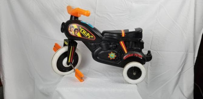 RARE Original 1970s CHiPs Trike! by MOBvintage