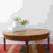 Round Pinwheel Coffee Table