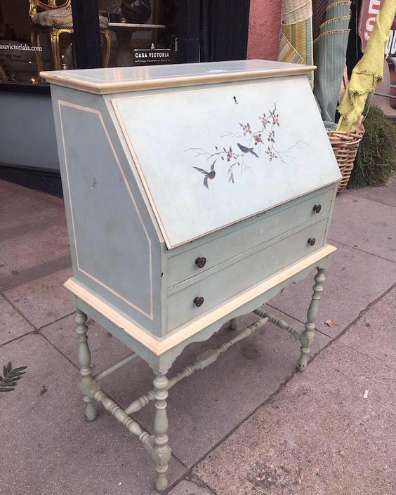 Free Bird | 1920s Small Secretary Desk