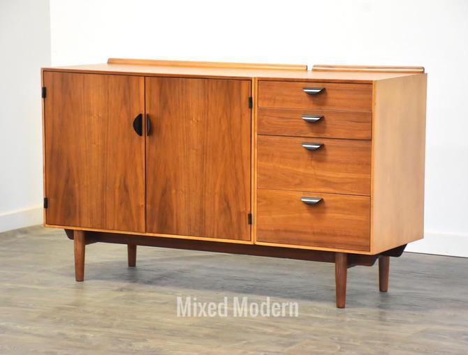 Modular Finn Juhl Credenza for Baker by mixedmodern1