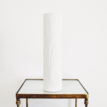 Large Scale West German Modernist Matte White Porcelain Vase // Thomas Germany // Modern Home Decor by GlitteryMoonVintage