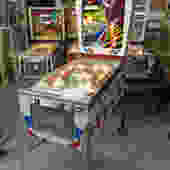 SOLD. 2001 Vintage Pinball Machine
