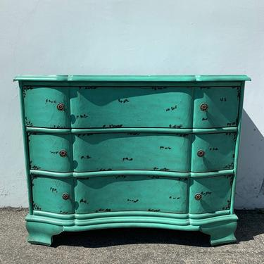 Antique Dresser Chest of Drawers Cabinet Table Shabby Chic Sideboard Console France Country Vintage Buffet Server CUSTOM PAINT AVAIL by DejaVuDecors